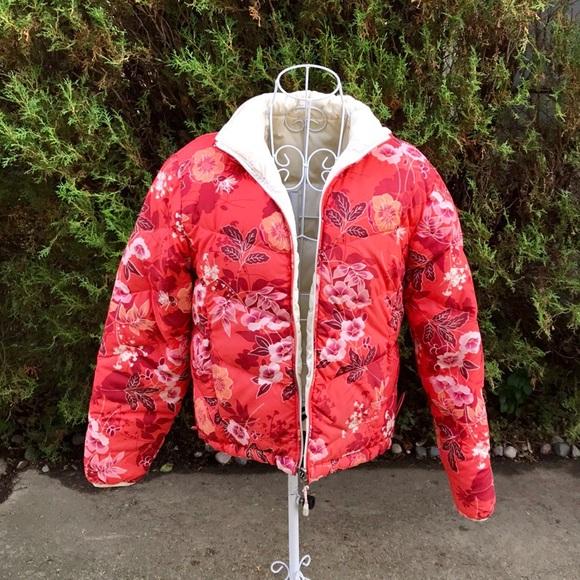L.L. Bean Jackets & Blazers - LL Bean Reversible Goose Down Puffer Coat